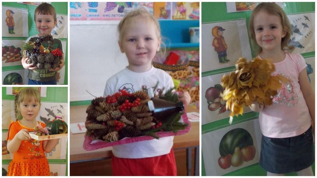 Поделка на тему осень с ребенком 95